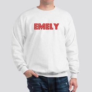 Retro Emely (Red) Sweatshirt