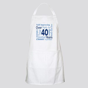 Over 40, 40th Birthday BBQ Apron