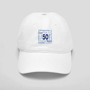 Over 50 years, 50th Birthday Cap