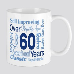 Over 60 years, 60th Birthday Mug