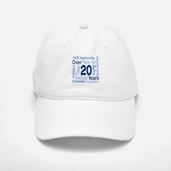Over 20, 20th Birthday Baseball Baseball Cap