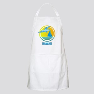 Retro Hawaii with Seagull BBQ Apron