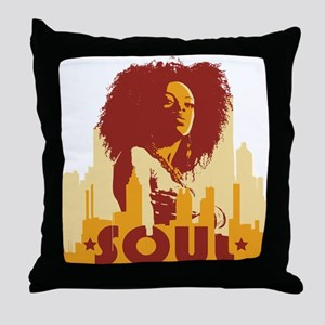 City Soul Throw Pillow