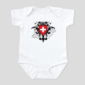 Stylish Switzerland Infant Bodysuit