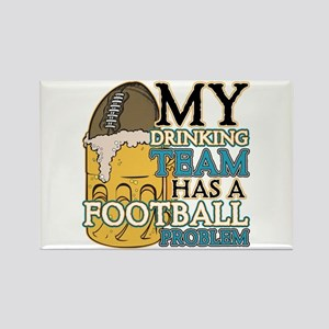 Football Drinking Team Rectangle Magnet (10 pack)