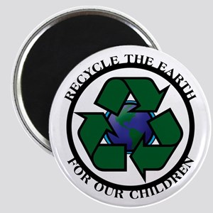Recycle the Earth Magnet