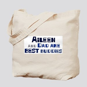Aileen and dad Tote Bag