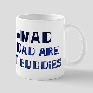 Ahmad and dad Mug