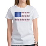 American Flag made up of S Women's Classic T-Shirt