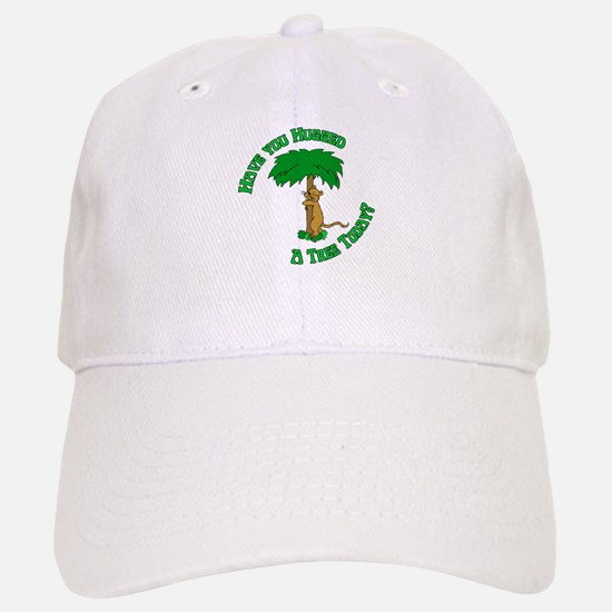 Tree Hugging Chipmunk Baseball Baseball Cap