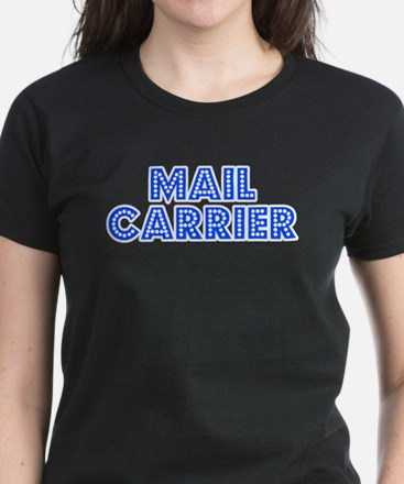Retro Mail carrier (Blue) Tee