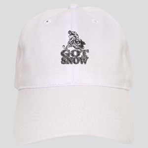 Got Snow Distressed black Cap