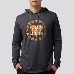 Love Each Other More Mens Hooded Shirt