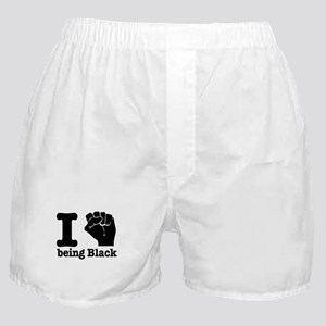 I love being black Boxer Shorts