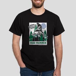 Official Snowmobiler Tree Tri Dark T-Shirt