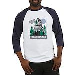 Official Snowmobiler Tree Tri Baseball Jersey