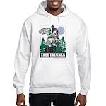 Official Snowmobiler Tree Tri Hooded Sweatshirt