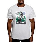 Official Snowmobiler Tree Tri Light T-Shirt