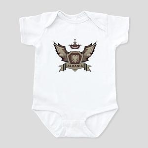 Albania Emblem Infant Bodysuit