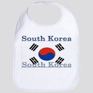 South Korea Bib