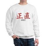 Samurai Honesty Kanji (Front) Sweatshirt