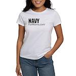 Navy For Mom's Women's T-Shirt