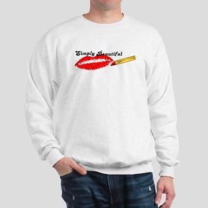 SIMPLY BEAUTIFUL HOT LIPS Sweatshirt