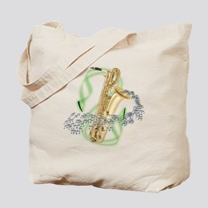 Baritone Saxophone Tote Bag