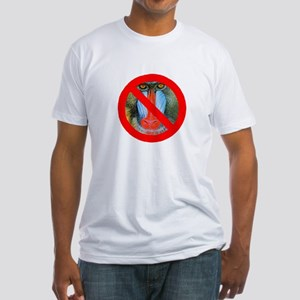No Baboons Fitted T-Shirt