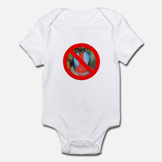 No Baboons Infant Bodysuit