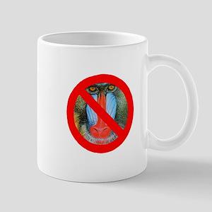 No Baboons Mug