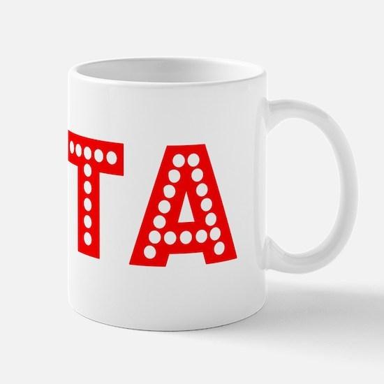 Retro Evita (Red) Mug