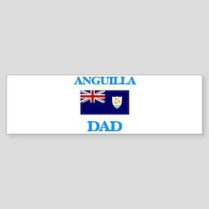 Anguilla Dad Bumper Sticker