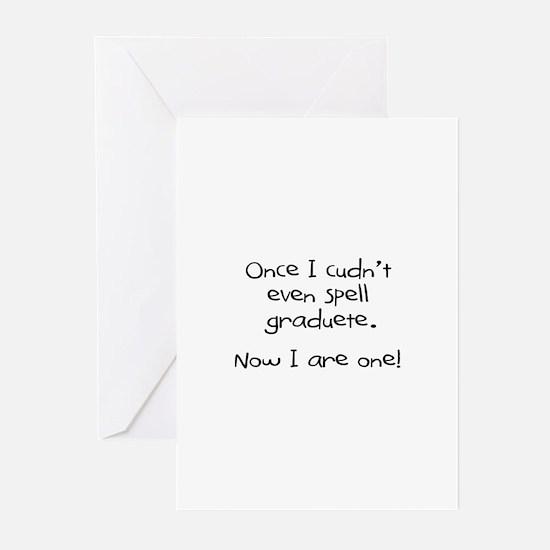 """Graduete"" Greeting Cards (Pk of 10)"