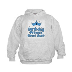 1st Birthday Prince's Great A Hoodie