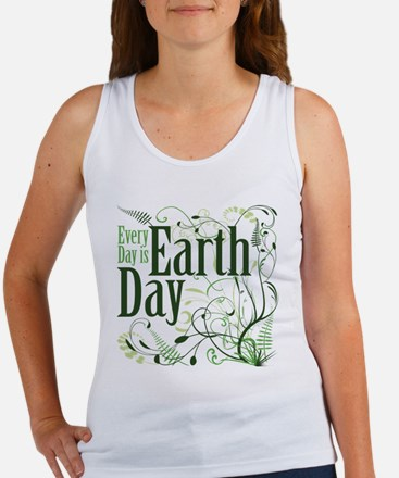 Every Day is Earth Day Women's Tank Top