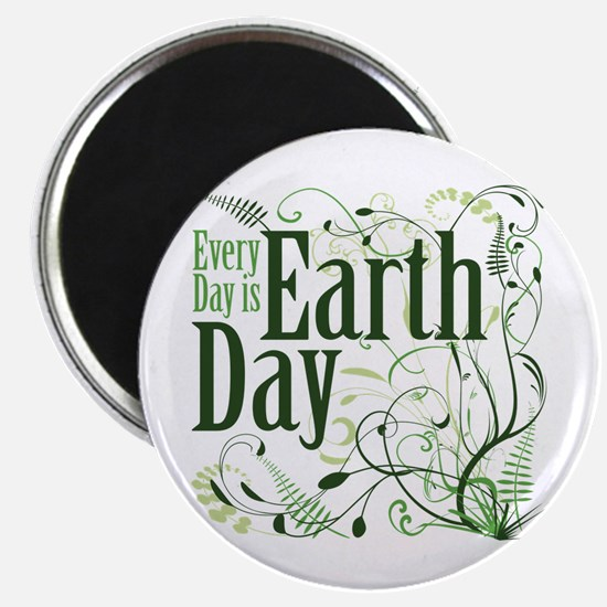 "Every Day is Earth Day 2.25"" Magnet (100 pack)"