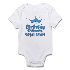 1st Birthday Prince's Great U Infant Bodysuit