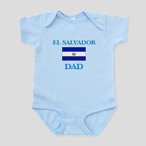 El Salvador Dad Body Suit