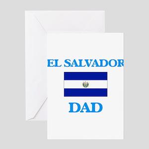 El Salvador Dad Greeting Cards