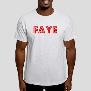 Retro Faye (Red) Light T-Shirt