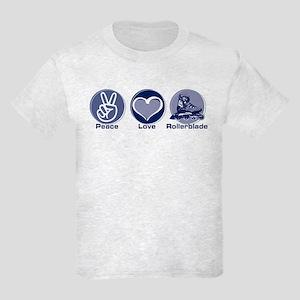 Peace Love Rollerblade Kids Light T-Shirt
