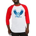 Obama Peace Symbol Baseball Jersey