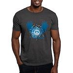 Obama Peace Symbol Dark T-Shirt