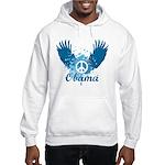 Obama Peace Symbol Hooded Sweatshirt