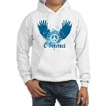 Obama Peace Symbol Hooded Sweatshirt