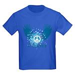 Obama Peace Symbol Kids Dark T-Shirt