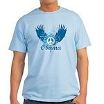 Obama Peace Symbol Light T-Shirt