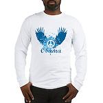 Obama Peace Symbol Long Sleeve T-Shirt