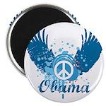 Obama Peace Symbol Magnet